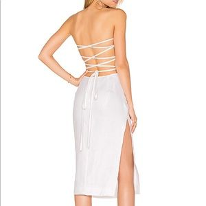Milly Dresses - Milly backless lace up dress